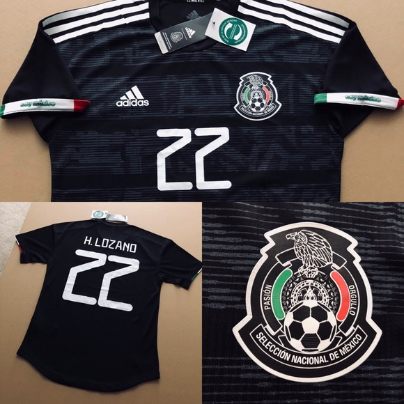 detailed pictures b681c c69bf 2019 MEXICO Hirving Lozano 22 Soccer Jersey CHUCKY NWT